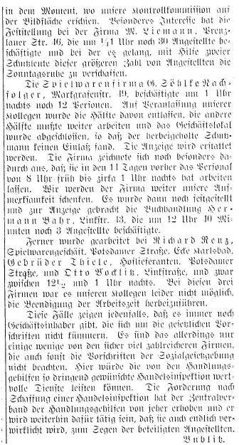 Sonntagsruheschänder2_HandlungsgehilfenZeitung 7.1.1914