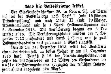 Volksfürsorge_Volkswacht 19.1.1914