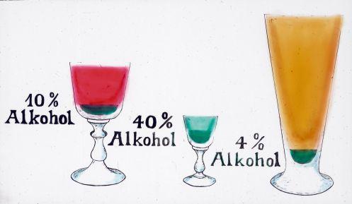 Der Psychotherapeut in breste beim Alkoholismus
