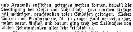 »Lübecker Volksbote« vom 6. Februar 1914.