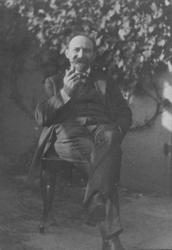 Sekretär des Zentralbildungsausschusses und SPD-MdR Heinrich Schulz im Jahr 1912.