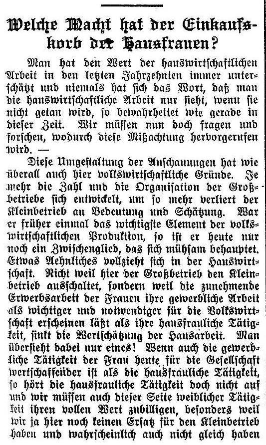 Ausschnitt eines Artikels der »Solidarität« vom 18. April 1914.