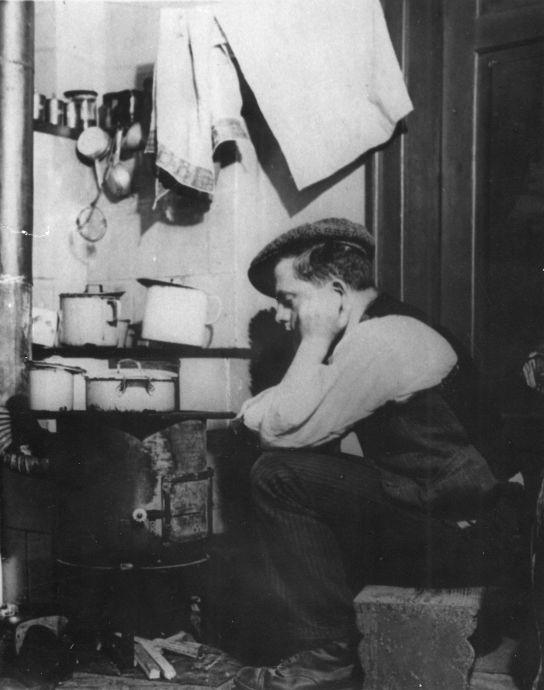 18.4. Macht des Einkaufskorbs_Innenaufnahme Küche um 1914_Sozialdemokratie1914