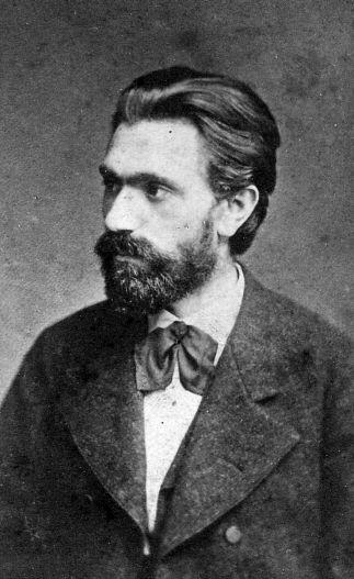 August Bebel im Jahr 1880. Zwei Jahre zuvor hatte er im »Vorwärts« die Gründung einer allgemeinen Parteibibliothek angeregt.