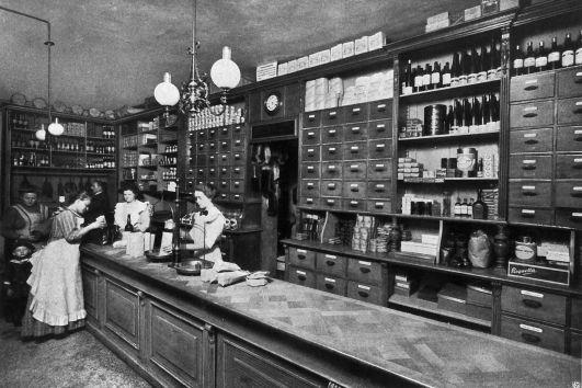 Lebensmittel zu fairen Preisen. Konsumladen in Hannover um 1910. Quelle: Archiv der sozialen Demokratie der Friedrich-Ebert-Stiftung.