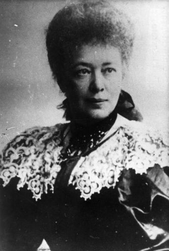 Porträt der Schriftstellerin und Pazifistin Bertha von Suttner, 1905. Quelle: Archiv der sozialen Demokratie der Friedrich-Ebert-Stiftung.