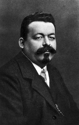 Der spätere SPD-Vorsitzende Friedrich Ebert um 1910.