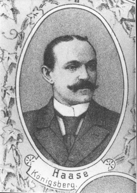 Neben Friedrich Ebert Vorsitzender der SPD: Porträt Hugo Haases aus dem Jahr 1912. Quelle: Archiv der sozialen Demokratie der Friedrich-Ebert-Stiftung.