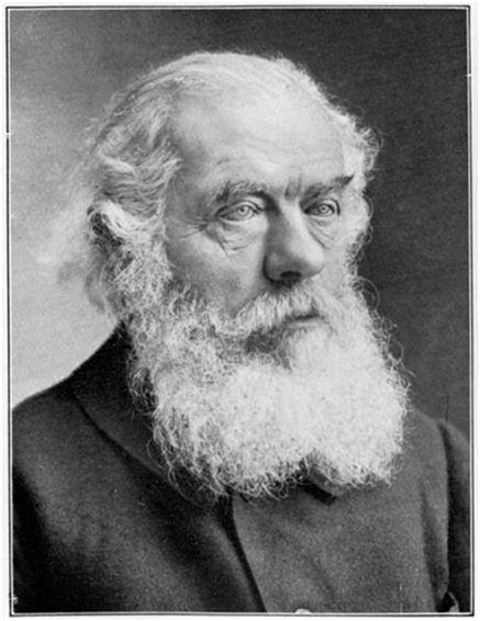 Der Gründer der Sozialdemokratischen Partei der Schweiz: Herman Greulich um 1914. Rechte: gemeinfrei. Quelle: Wikipedia.