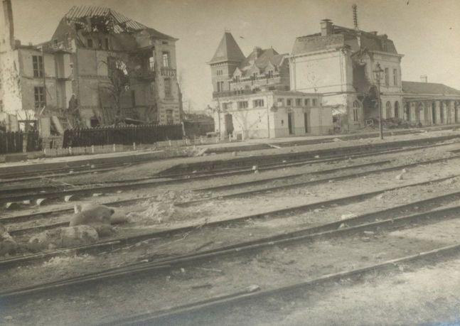 3.10. Bahnhof Diksmuide_Nachlass Gustav Nocke_AdsD